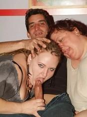 Explicit live cam show with chunky camgirls Anna Marie and Agnes Eva having a nice threesome